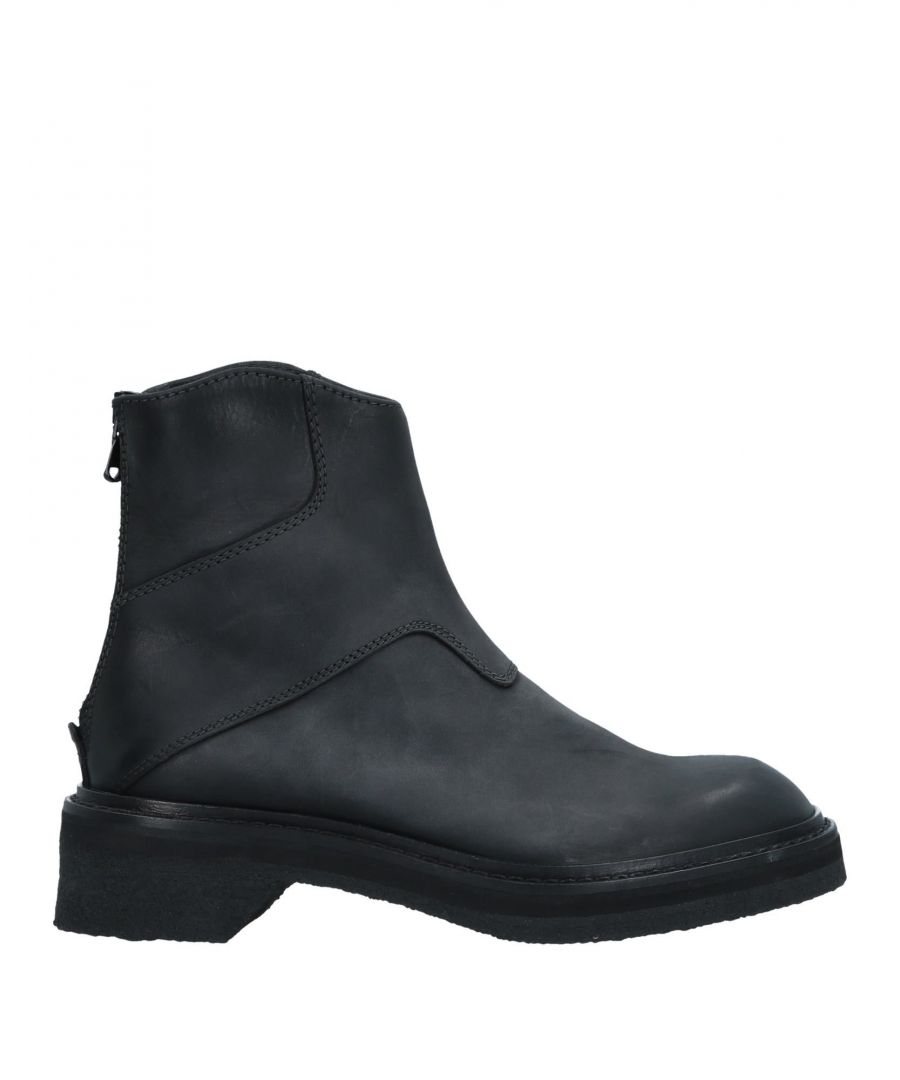 Image for Emporio Armani Black Calf Leather Boots