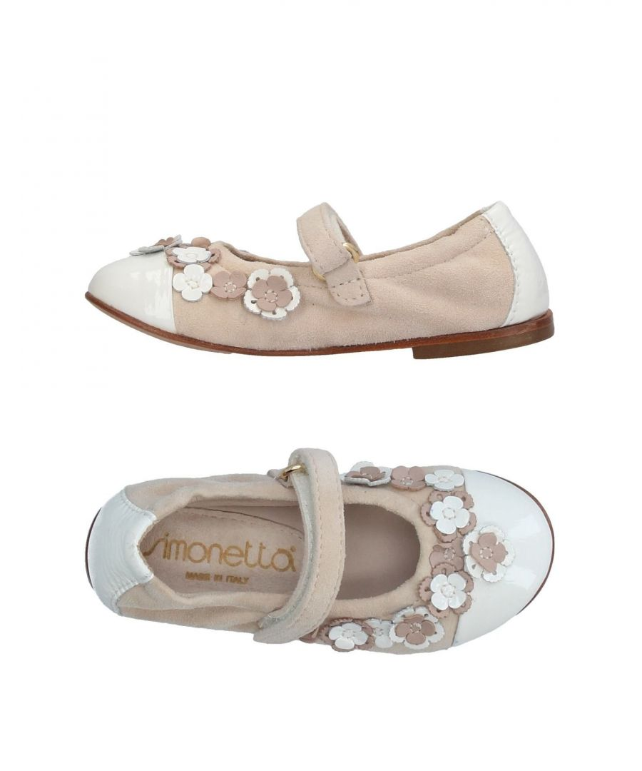 Image for Simonetta Beige Girl Leather Shoes