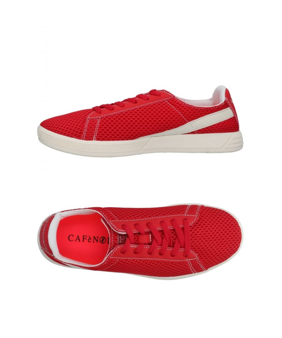 Image for Cafenoir Red Techno Fabric Sneakers