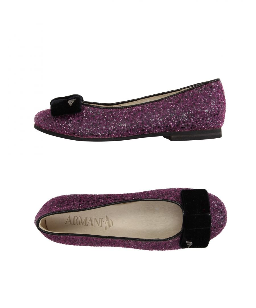Image for FOOTWEAR Armani Junior Mauve Girl Leather