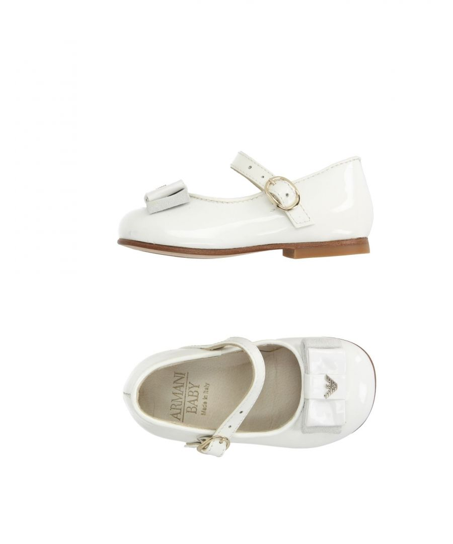 Image for FOOTWEAR Armani Junior White Girl Leather