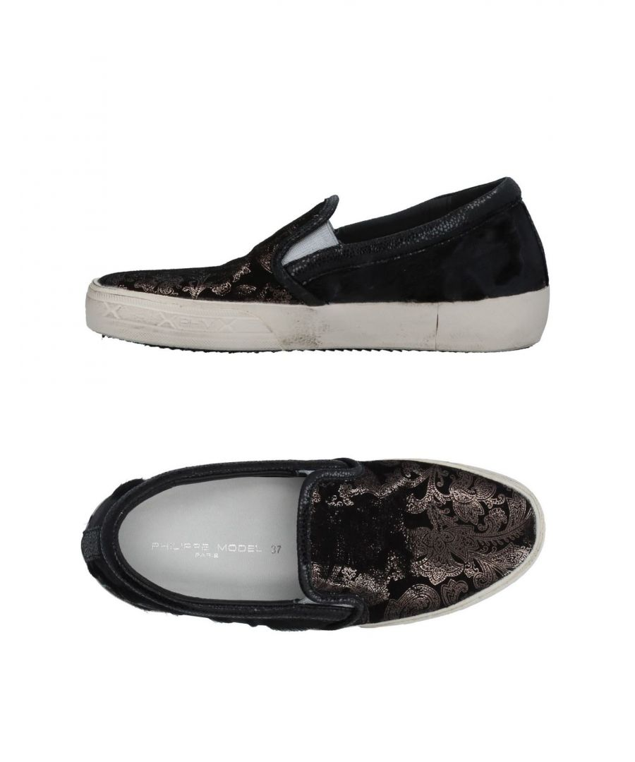 Image for Philippe Model Black Leather Slip Ons