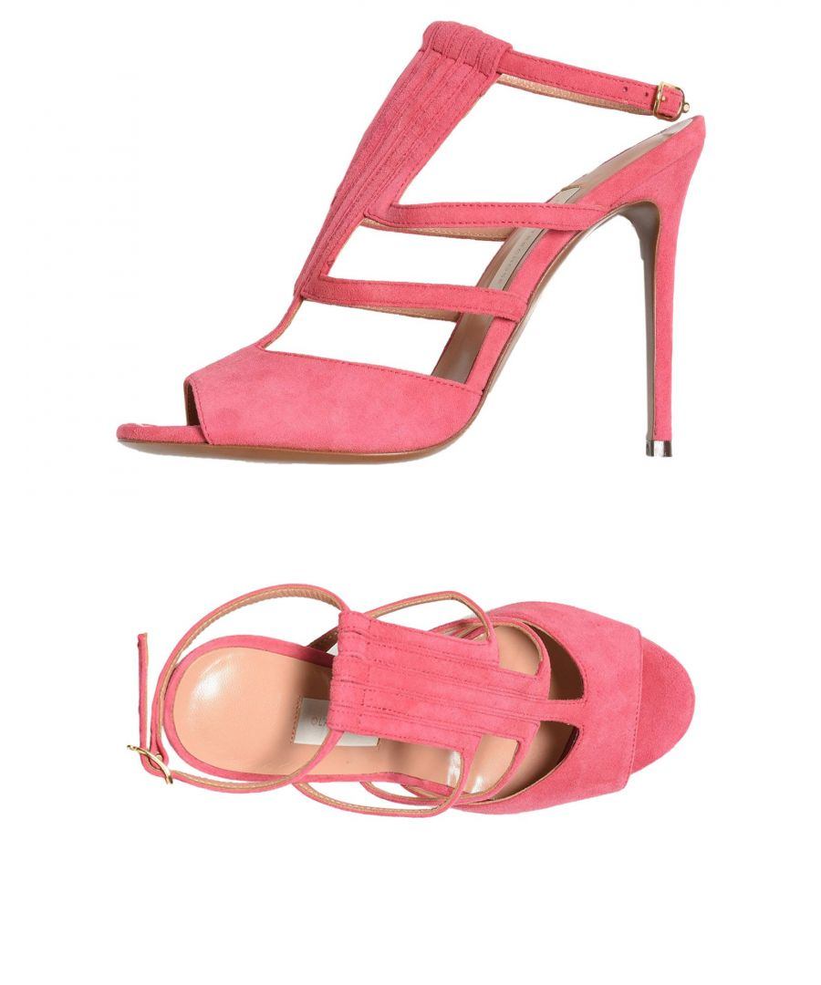 Image for L' Autre Chose Fuchsia Leather Heeled Sandals