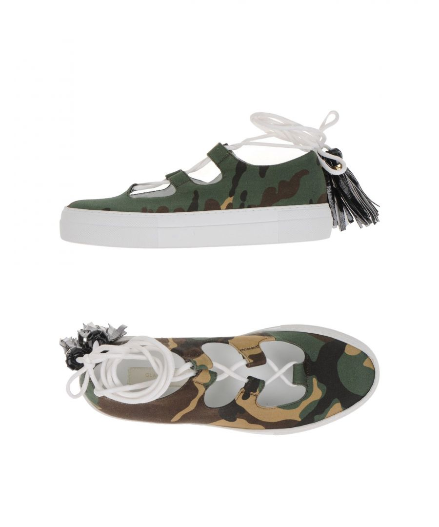 Image for L' Autre Chose Military Green Flat Sandals