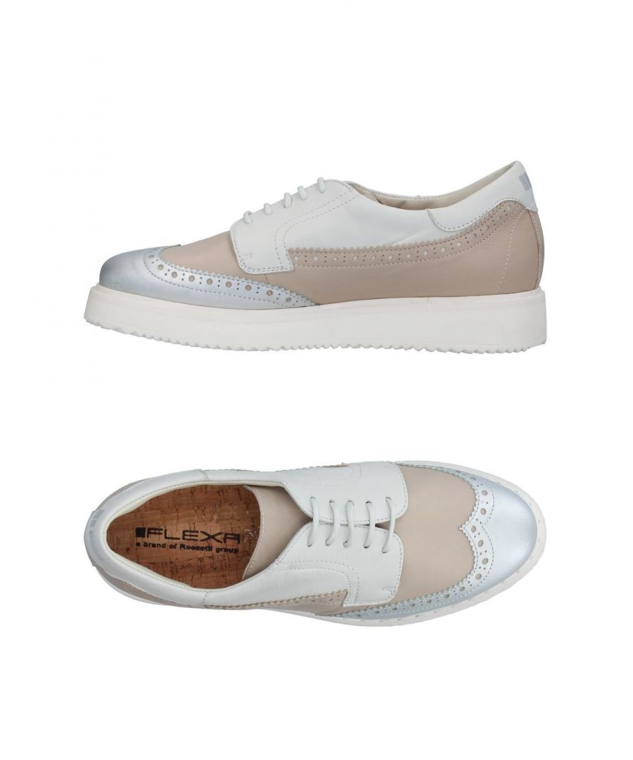 Image for Flexa By Fratelli Rossetti Pale Pink Leather Brogues