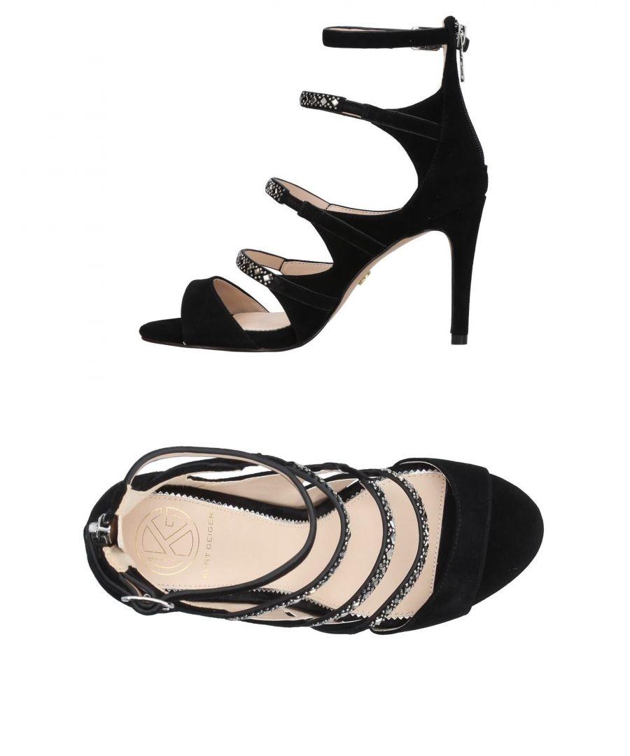 Image for Kg Kurt Geiger Black Leather Heels