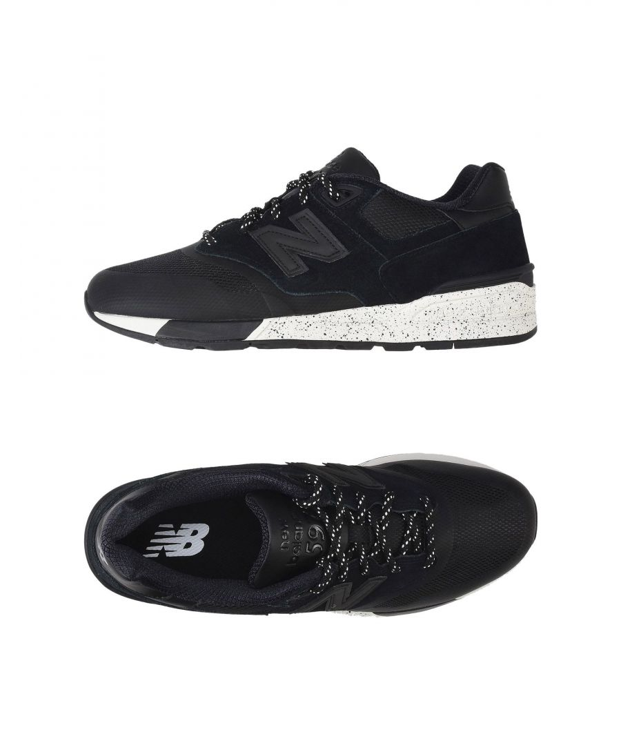Image for New Balance Man Low-tops & sneakers Black Leather