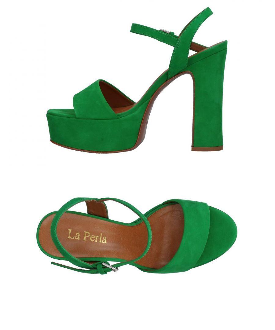 Image for FOOTWEAR La Perla Green Woman Leather