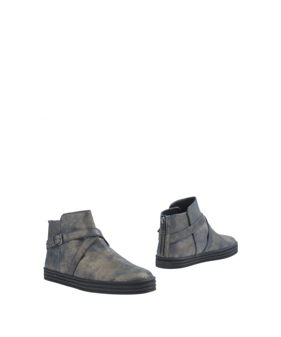 Image for Hogan Rebel Dark Blue Leather Ankle Boots