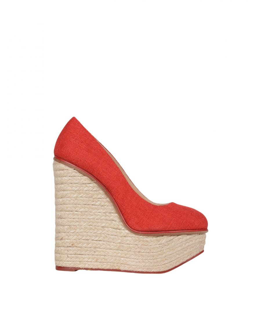 Image for Charlotte Olympia Red Wedges