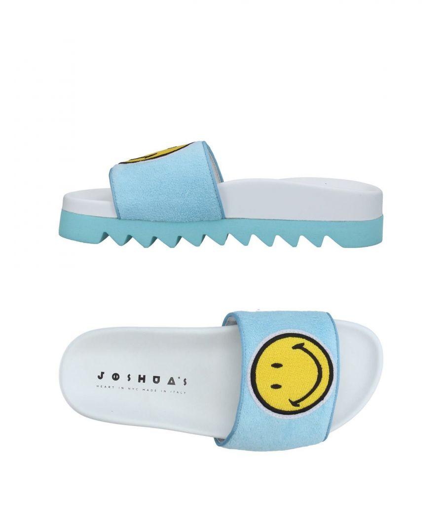 Image for Joshua*S Sky Blue Terrycloth Emoji Sliders