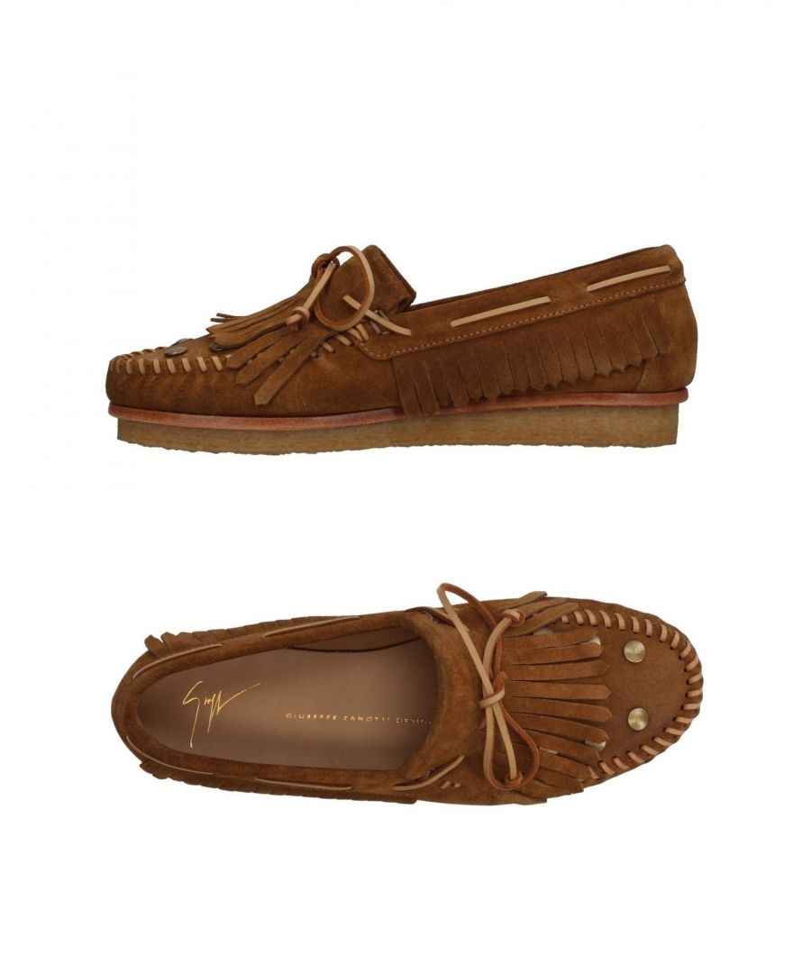 Image for Giuseppe Zanotti Camel Leather Loafers