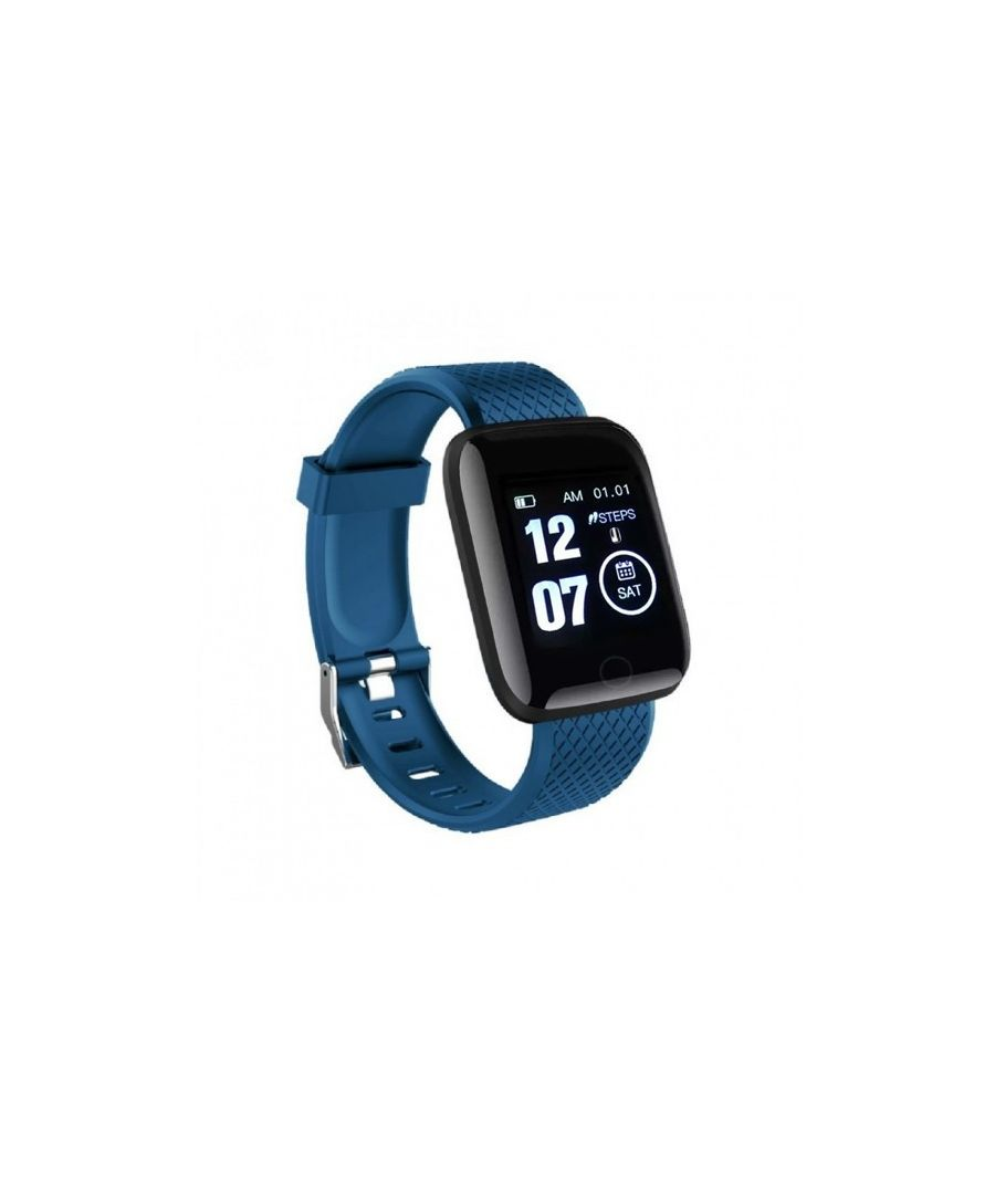 Image for LKS Smart Watch, OLED Touchscreen IP67 for Android and iOS, Blue