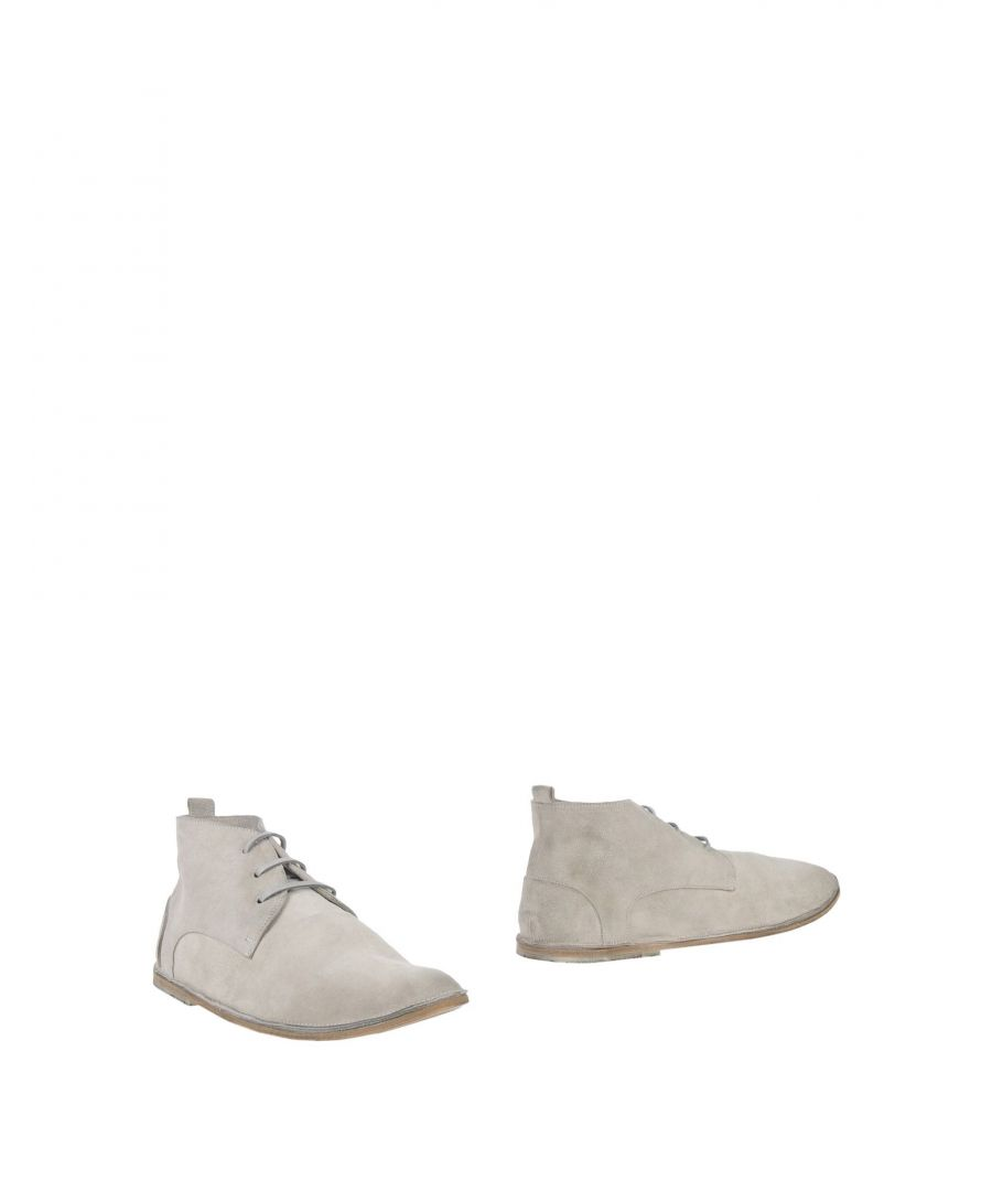 Image for Marsell Grey Leather Boots