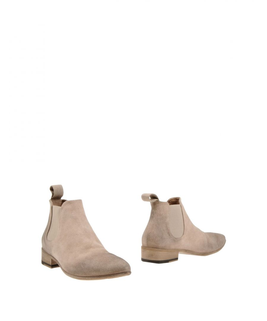 Image for Marsèll Beige Leather Ankle Boots