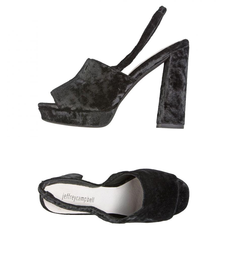 Image for FOOTWEAR Jeffrey Campbell Black Woman Textile fibres