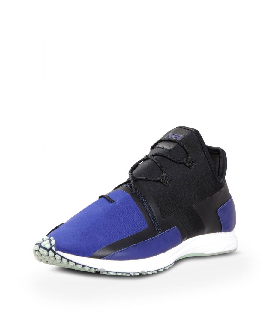 Image for Y-3 Black Neoprene And Leather Sneakers