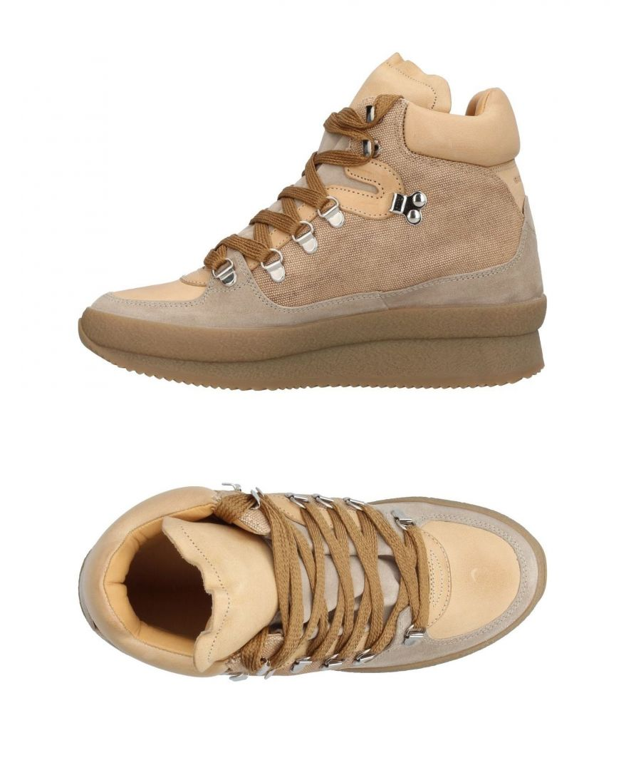 Image for Isabel Marant Etoile Beige Leather Sneakers