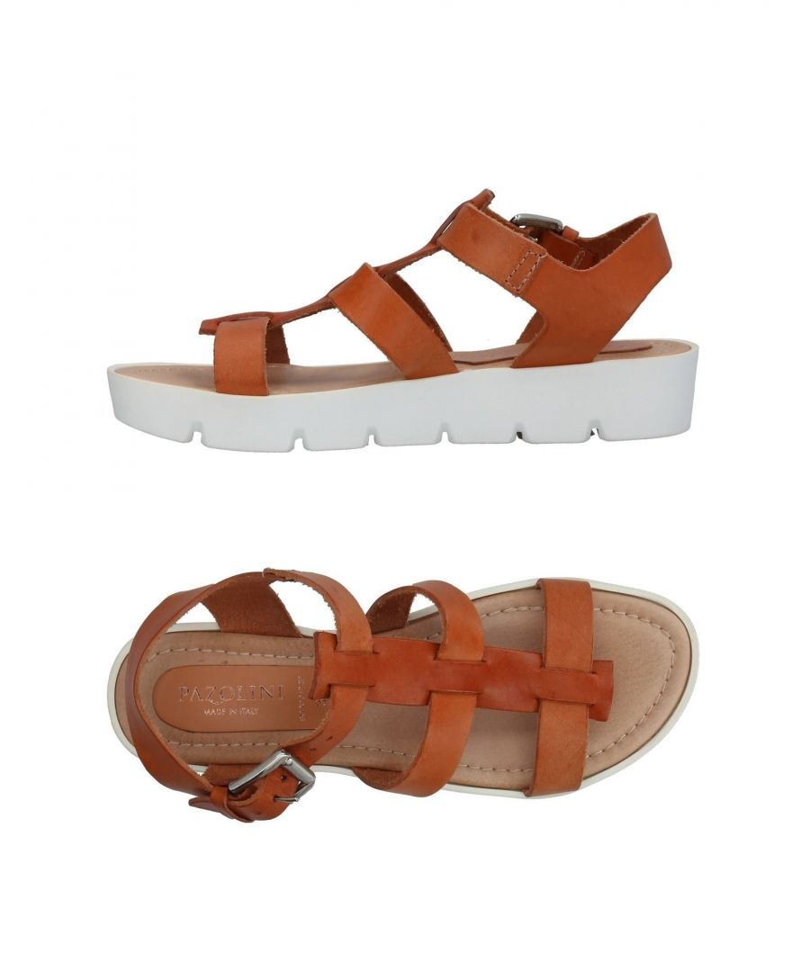 Image for Carlo Pazolini Tan Leather Sandals