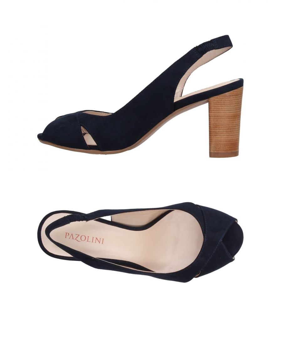 Image for Carlo Pazolini Dark Blue Leather Heels