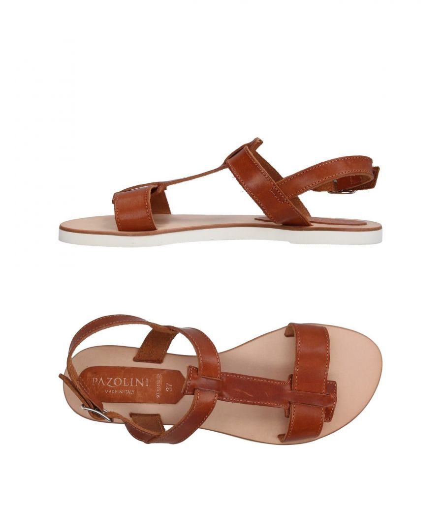 Image for Carlo Pazolini Brown Leather Sandals