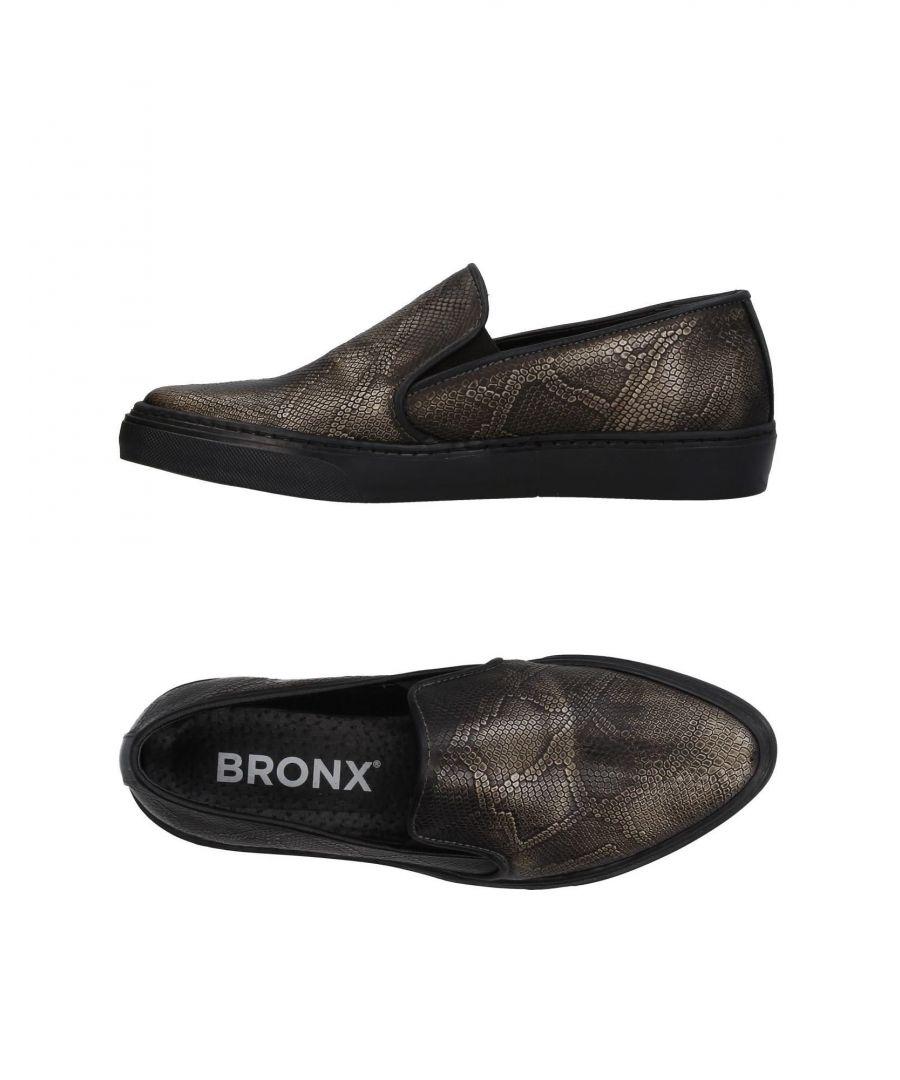 Image for Bronx Dark Brown Leather Slip Ons