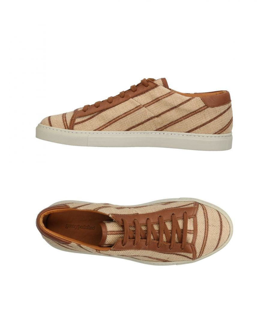 Image for Gentryportofino Beige Jute Sneakers