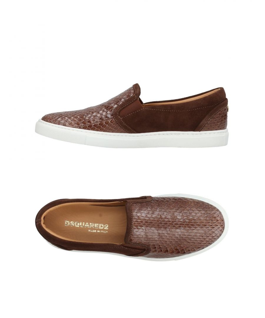 Image for Dsquared2 Cocoa Leather Loafers