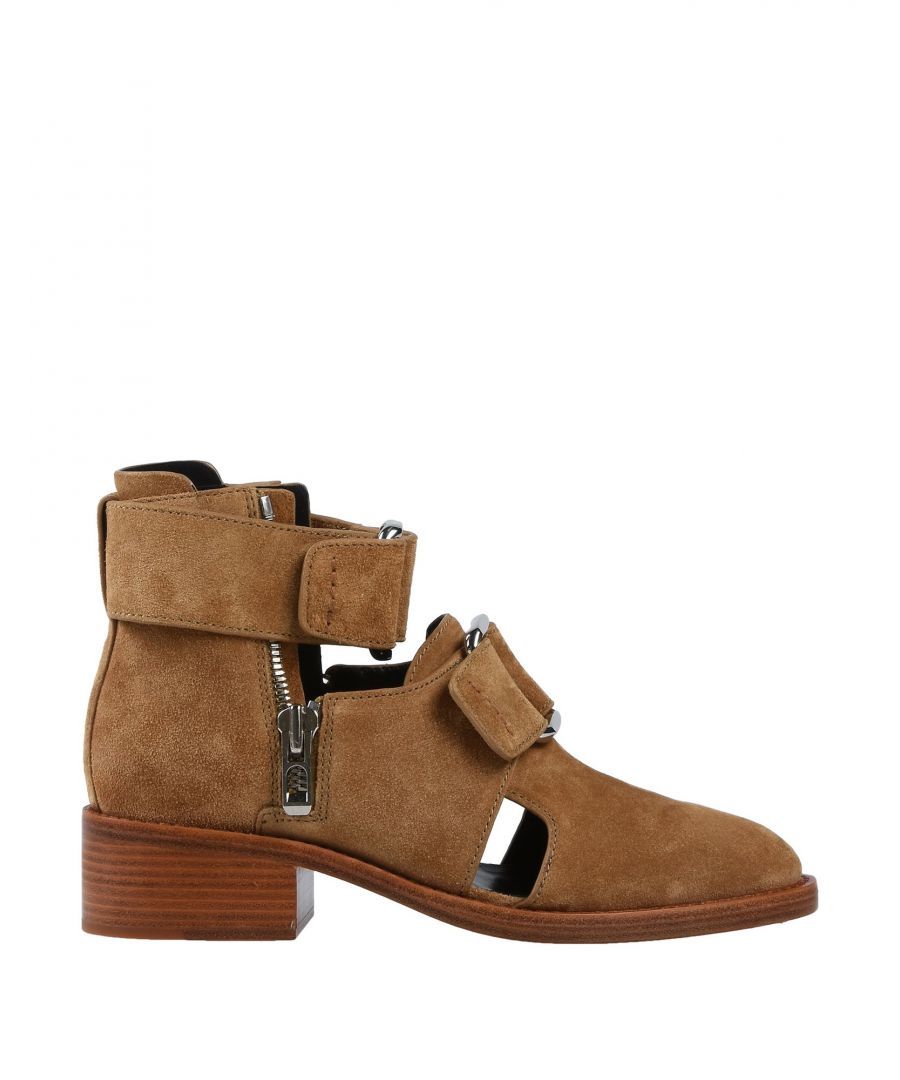 Image for 3.1 Phillip Lim Sand Leather Ankle Boots