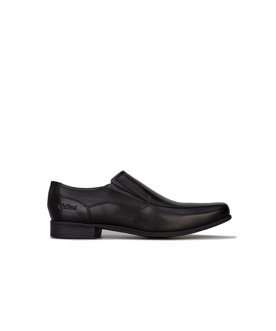 Image for Men's Kickers Vintner Slip On Shoe in Black