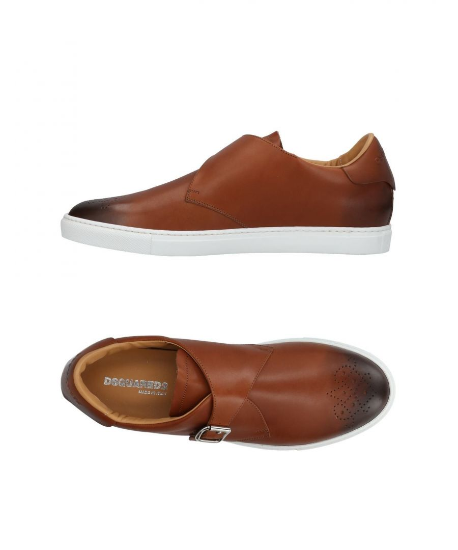 Image for Dsquared2 Brown Calf Leather Monkstrap Shoes
