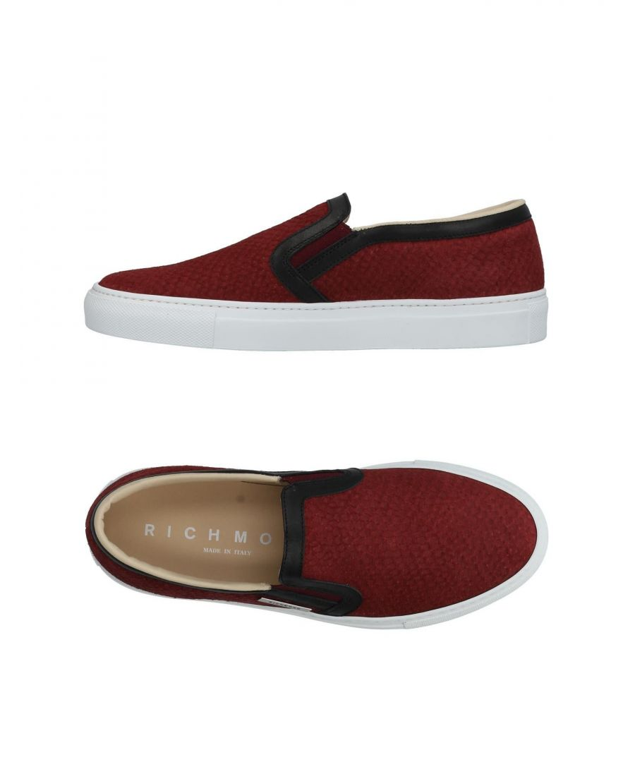 Image for Richmond Merlot Leather Slip Ons
