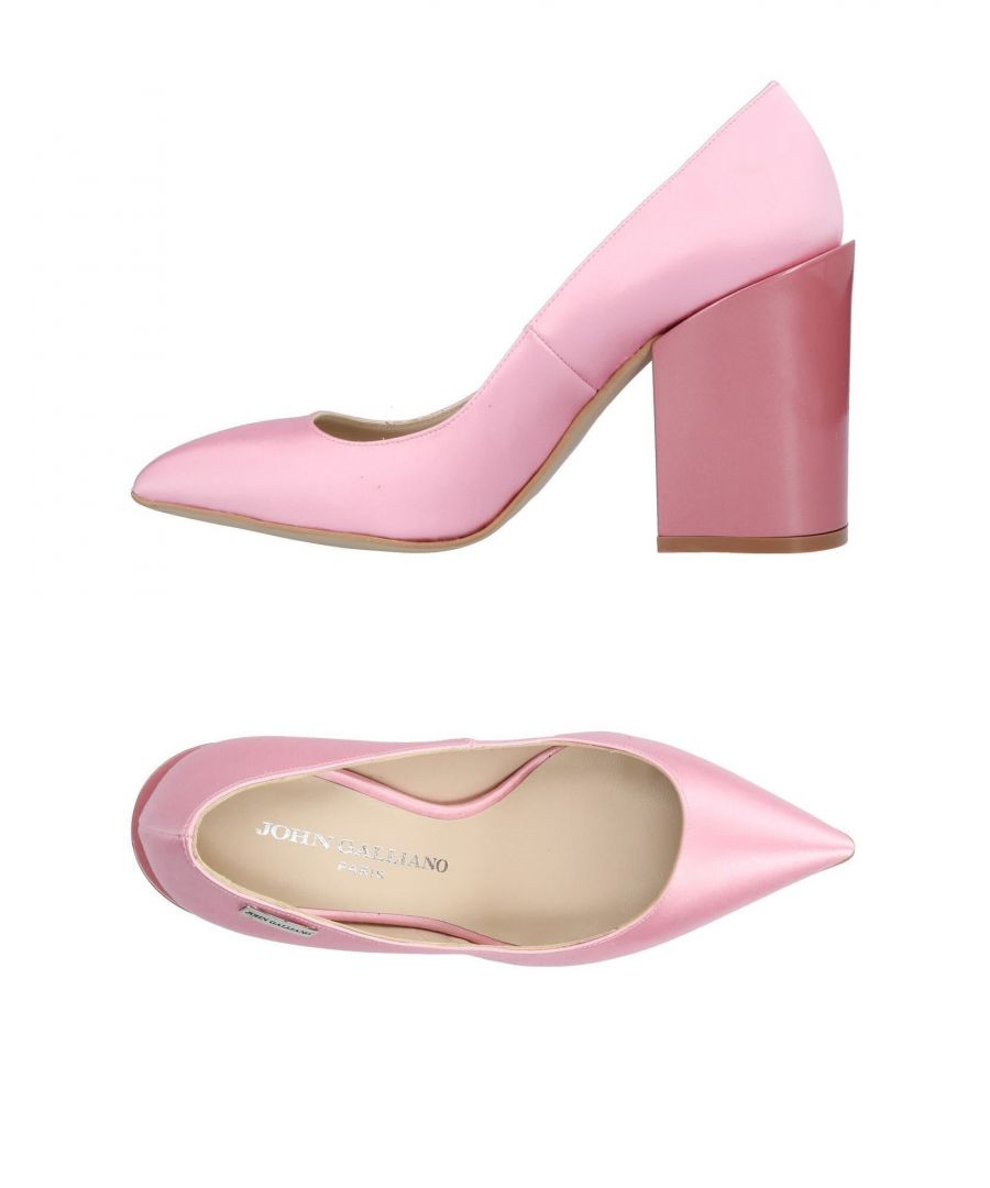 Image for John Galliano Pink Leather Heels