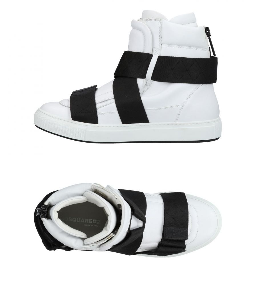 Image for Dsquared2 White Calf Leather Boots