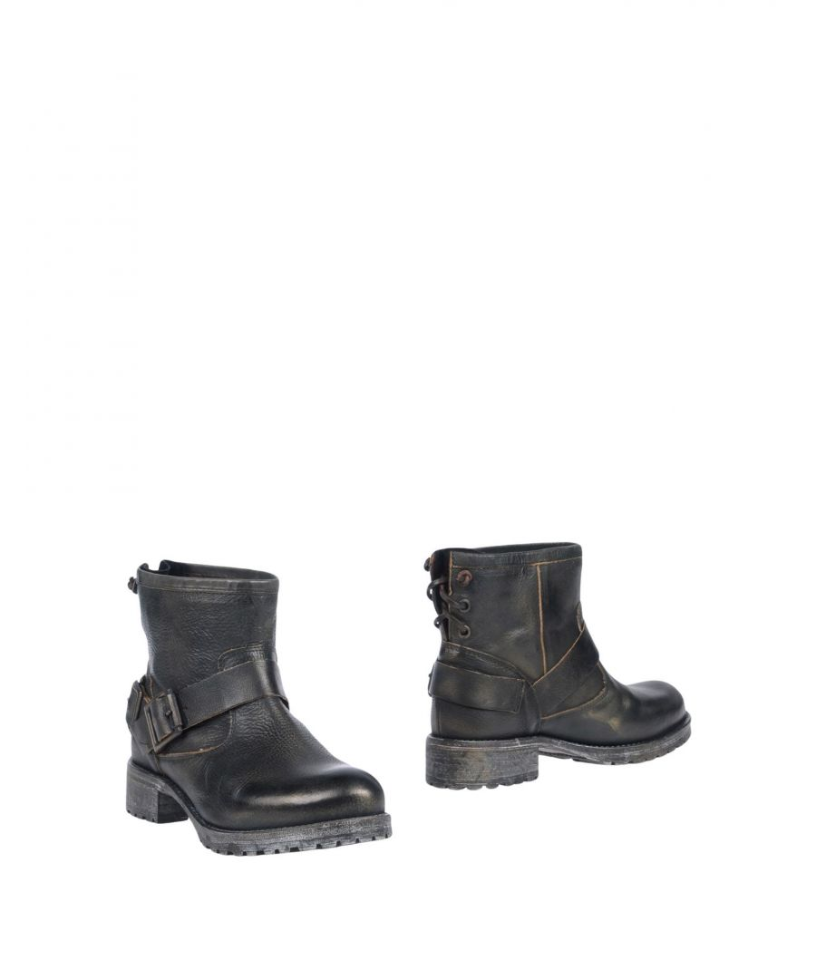 Image for Jeffrey Campbell Dark Green Leather Boots