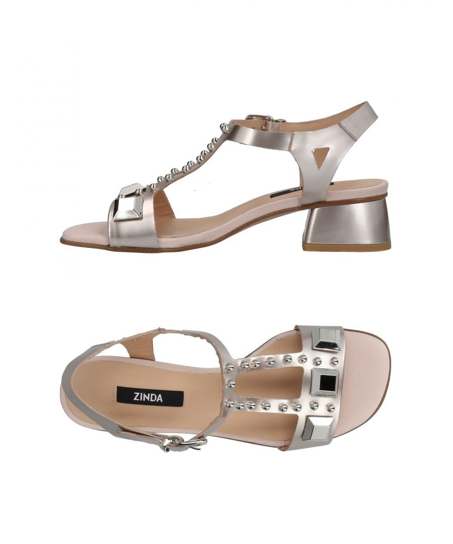 Image for Zinda Pale Pink Leather Sandals