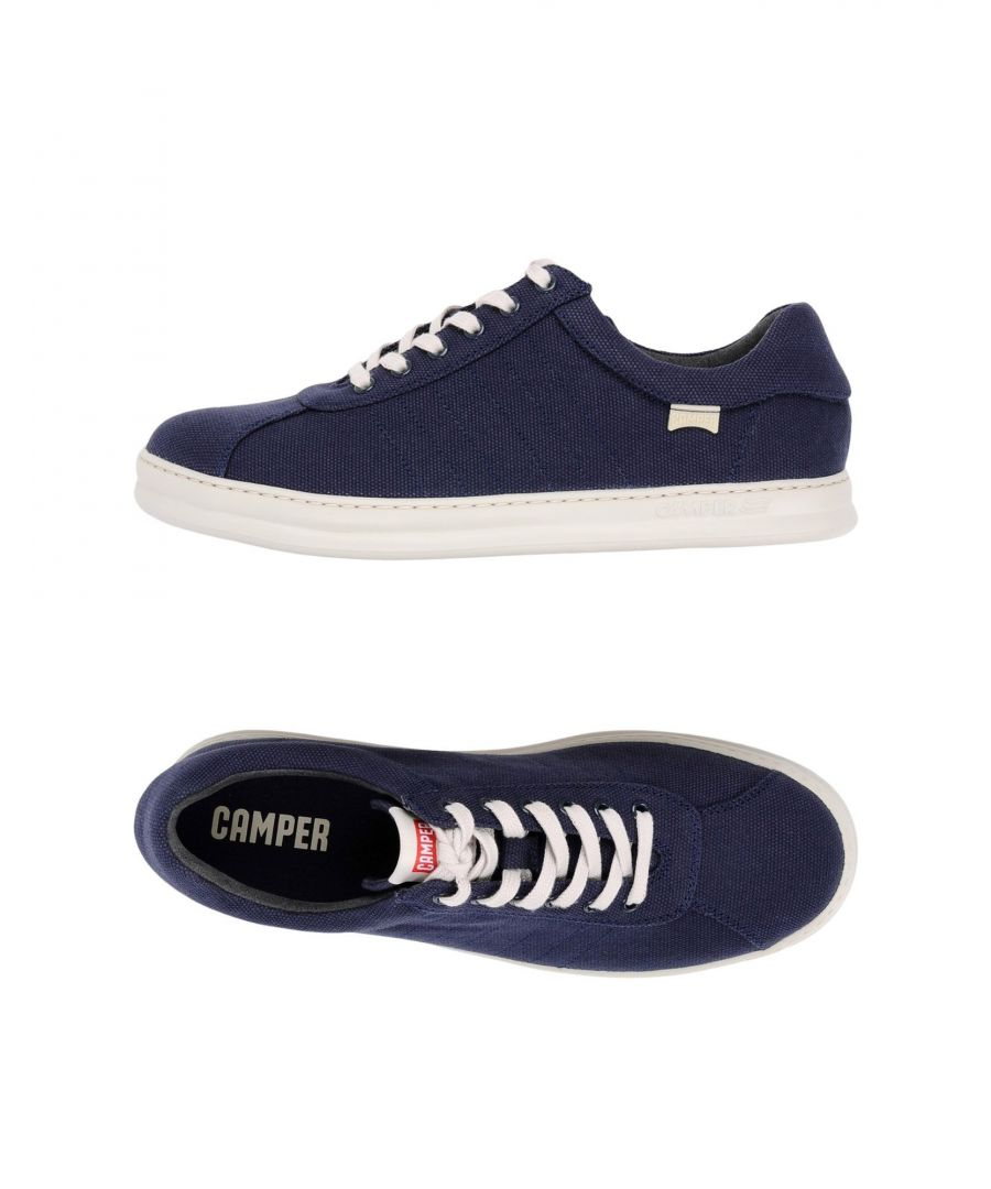 Image for Camper Blue Canvas Sneakers