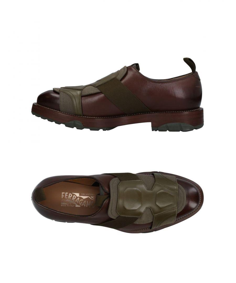Image for Salvatore Ferragamo Dark Brown Calf Leather Shoes