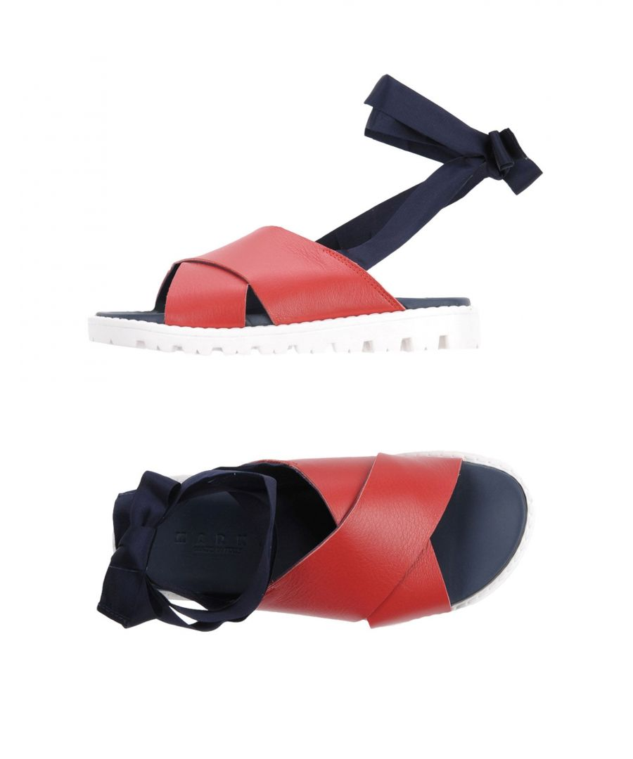 Image for Marni Red Girl Leather Shoes