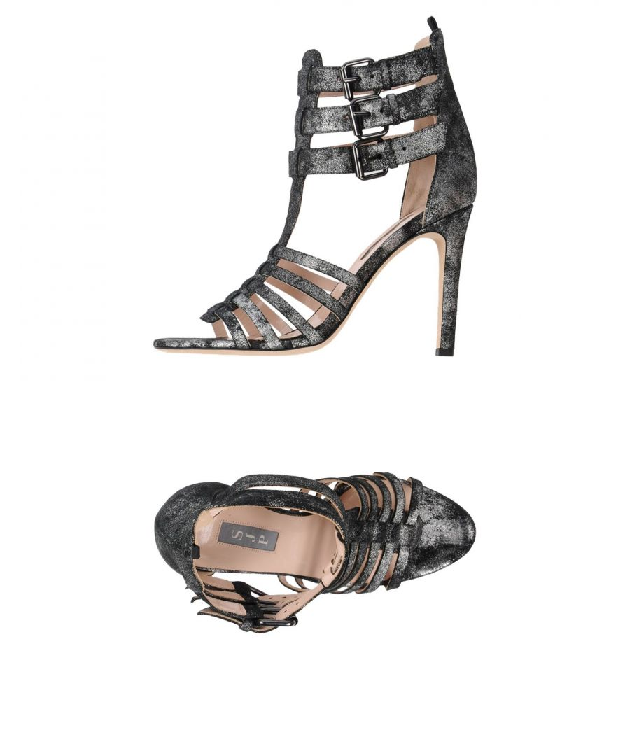 Image for SJP By Sarah Jessica Parker Lead Leather Heeled Sandals