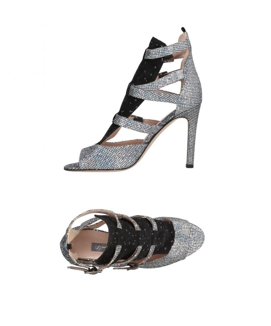 Image for SJP By Sarah Jessica Parker Silver Leather Heels