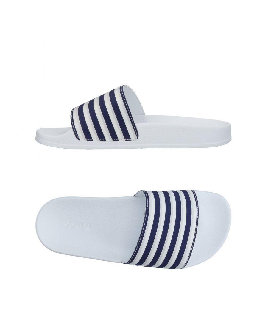 Image for MSGM Dark Blue Stripe Sliders