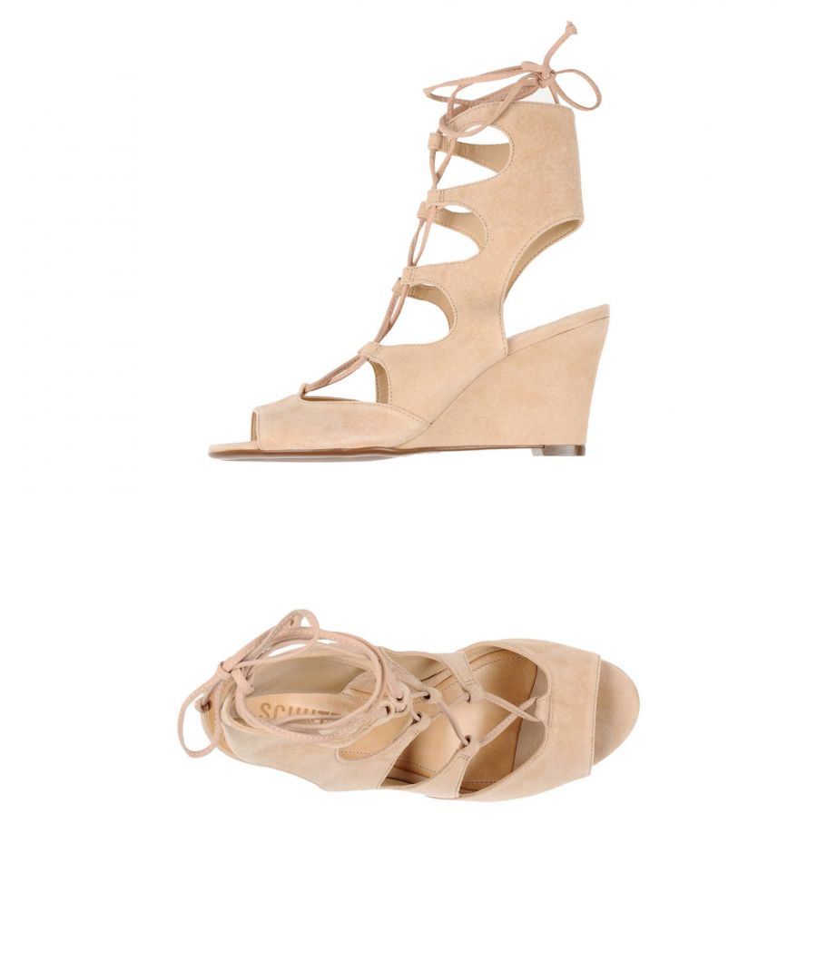 Image for Schutz Sand Leather Wedges