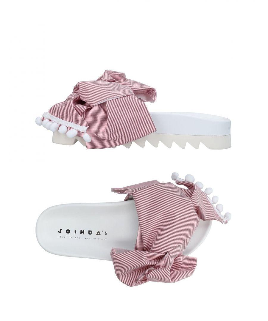 Image for Joshua*S Maroon Stripe And Tassel Sliders