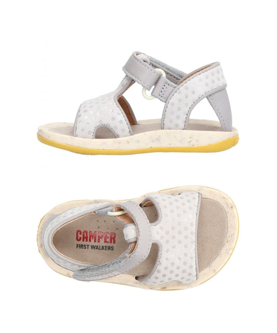 Image for Camper Grey Girl Leather Shoes