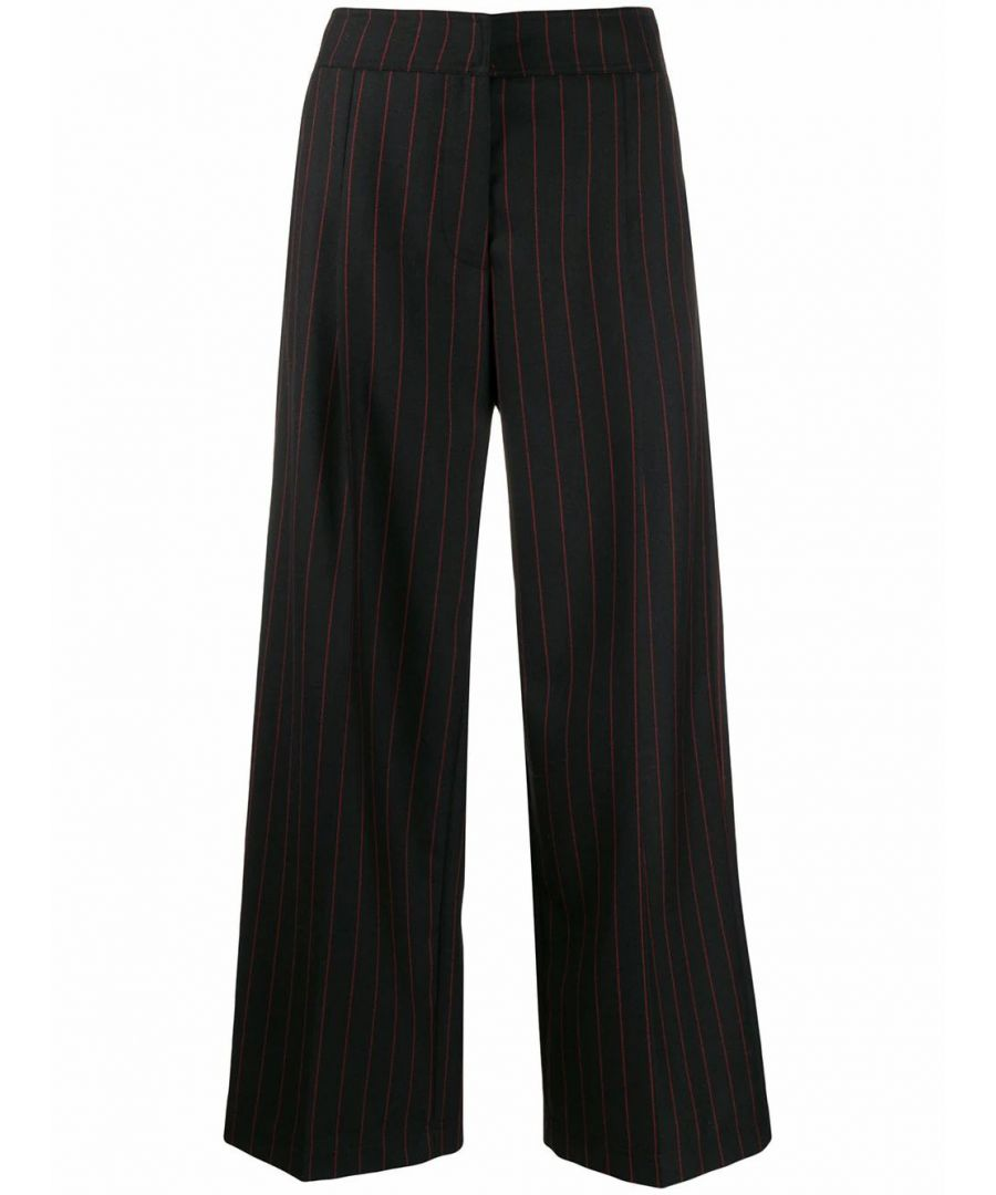 Image for MCQ BY ALEXANDER MCQUEEN WOMEN'S 559421RNQ321060 BLACK POLYESTER PANTS
