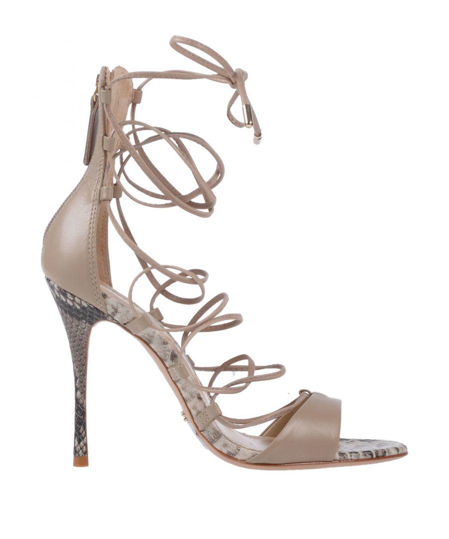 Image for Schutz Beige Leather Heels