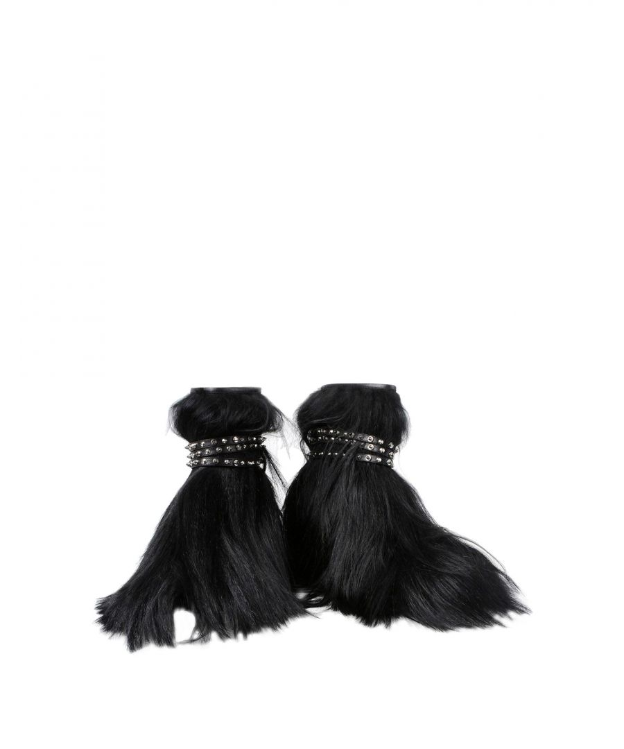 Image for Saint Laurent Black Leather Ankle Boots