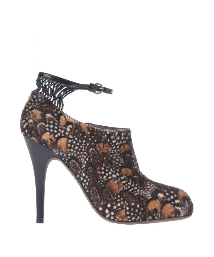 Image for Valentino Garavani Dark Brown Leather Heeled Ankle Boots