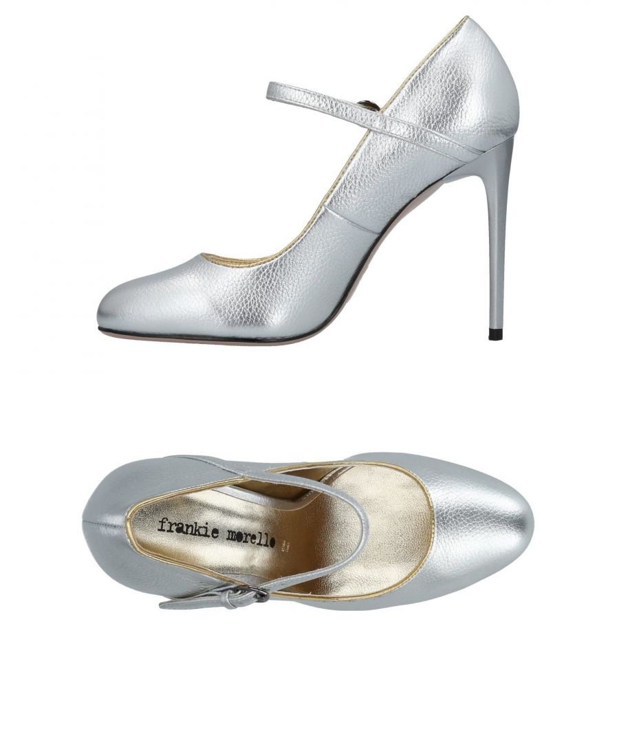 Image for Frankie Morello Silver Mary Jane Heels